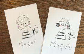 Museeのショップカード